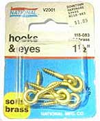 Photo of Hooks & Eyes